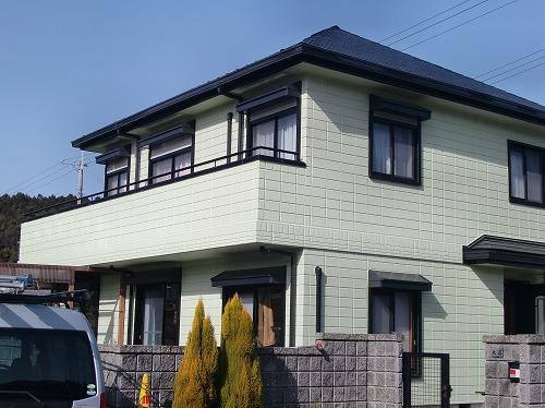 外壁塗装 TOTO光触媒       メーカー10年保証