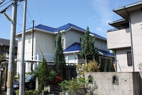 屋根塗装                クールタイト(熱線吸収材)