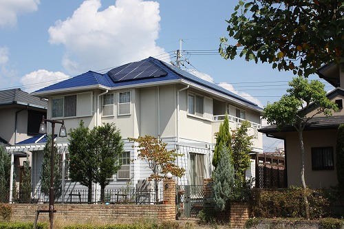 兵庫県 太陽光設置 スレート仕様     コーナーモジュール