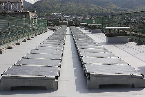 産業用太陽光発電設置   事例