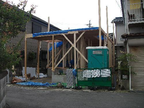 京都府京田辺市               施工業者 西尾工務店