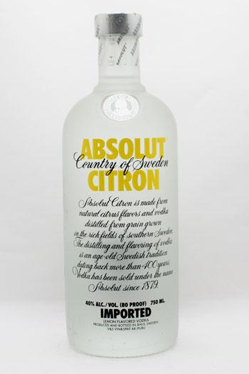 アブソリュ−ト・シトロン