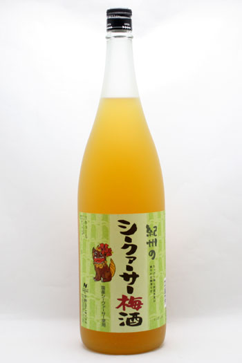 紀州シークァサー梅酒 1800ml
