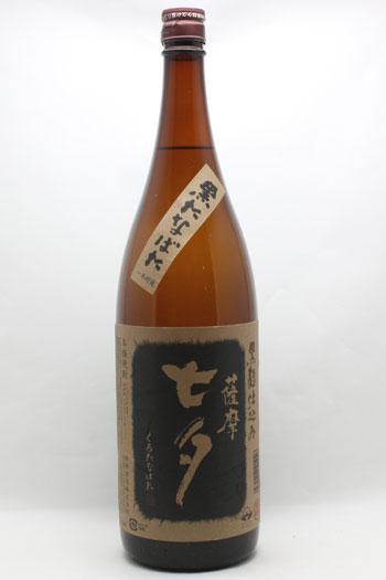 七夕 黒 芋焼酎 25度 1800ml