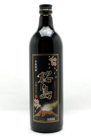 黒麹仕立て 桜島 25度(芋・米麹)720ml