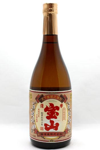 宝山 紅薩摩 25度 720ml