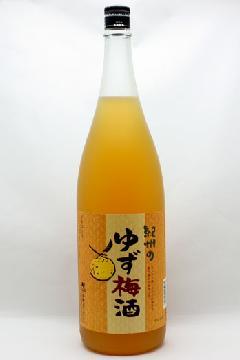 紀州 柚子梅酒 1800ml