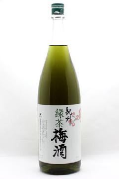 紀州緑茶梅酒 1800ml