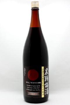 美濃菊 黒糖梅酒 12度 1800ml