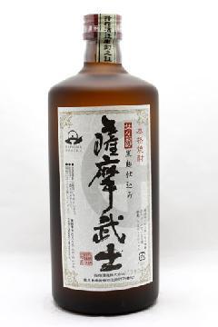 薩摩武士 黒麹 25度 720ml