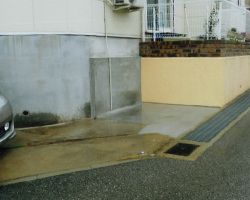 車庫拡張工事の例