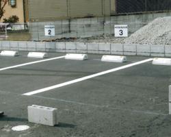 駐車場工事の例