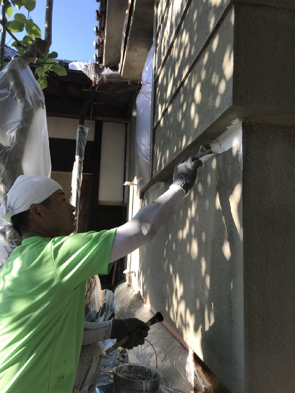 外壁石調塗装工事