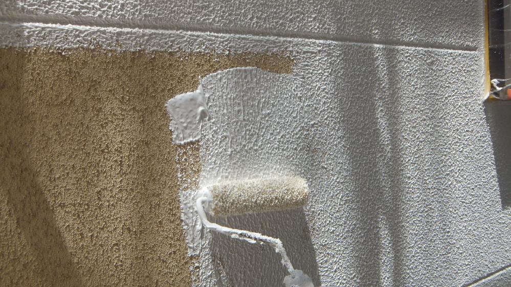 外壁無機系塗装
