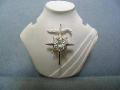 ≪M≫PT950ダイヤモンドペンダントトップ「南十字星」
