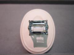 ≪T≫PT900 アクアマリンリング
