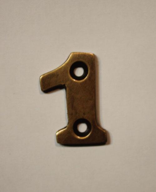organオリジナル真鍮文字プレート/数字1028