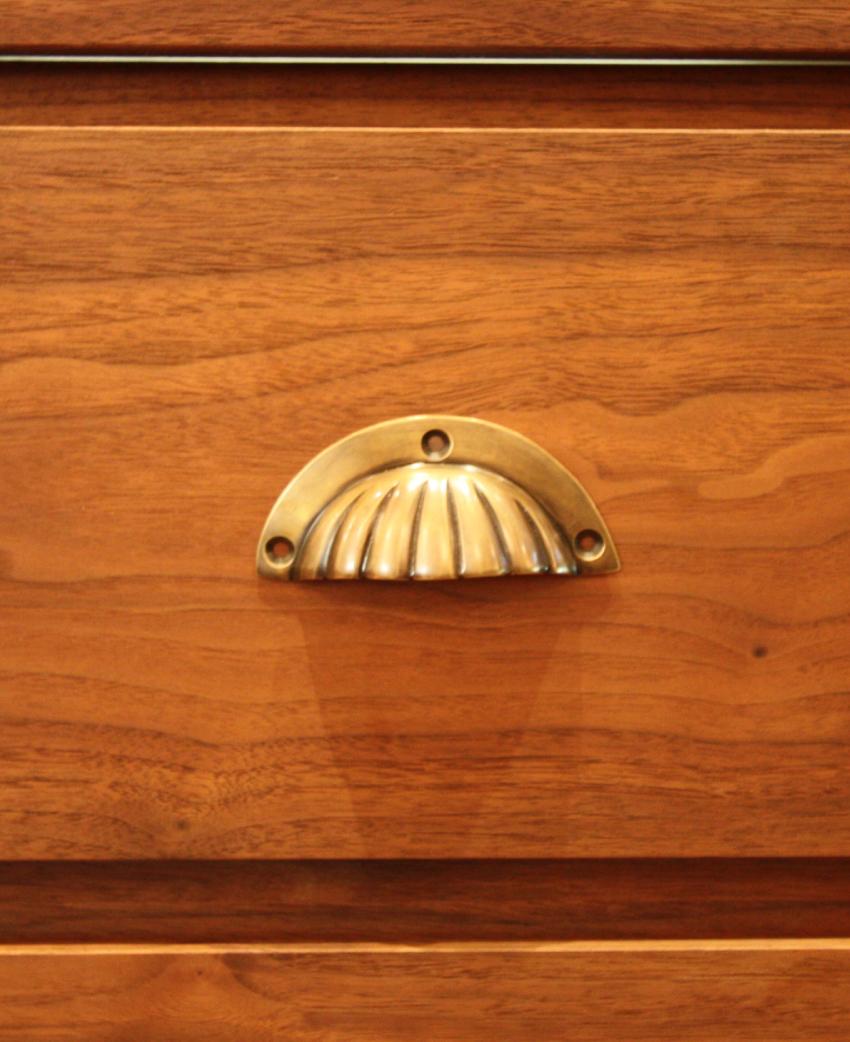 真鍮 マーメイドイヤーハンドル(小)