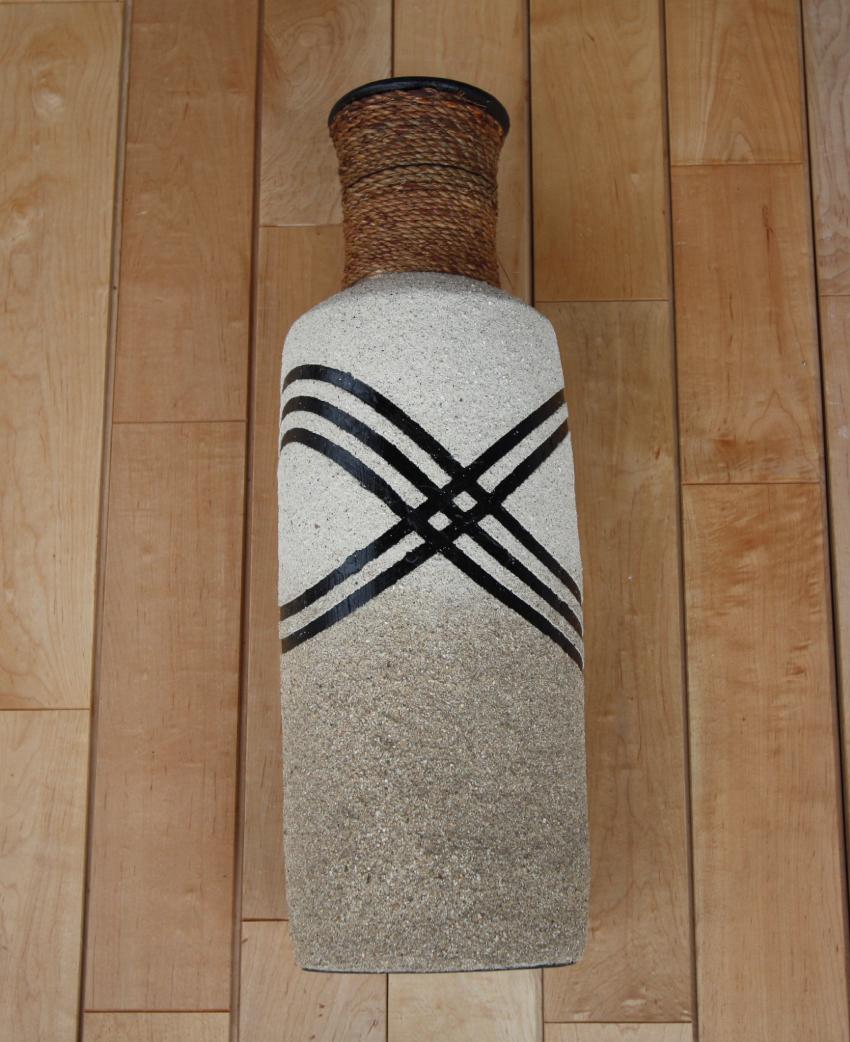 素焼き 花器 クロス