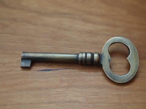真鍮  鍵 X037(大)