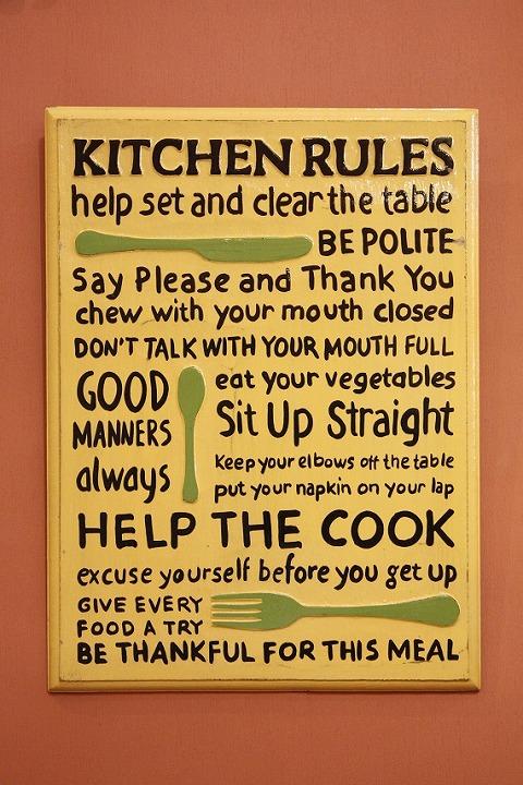Rules Kitchen B