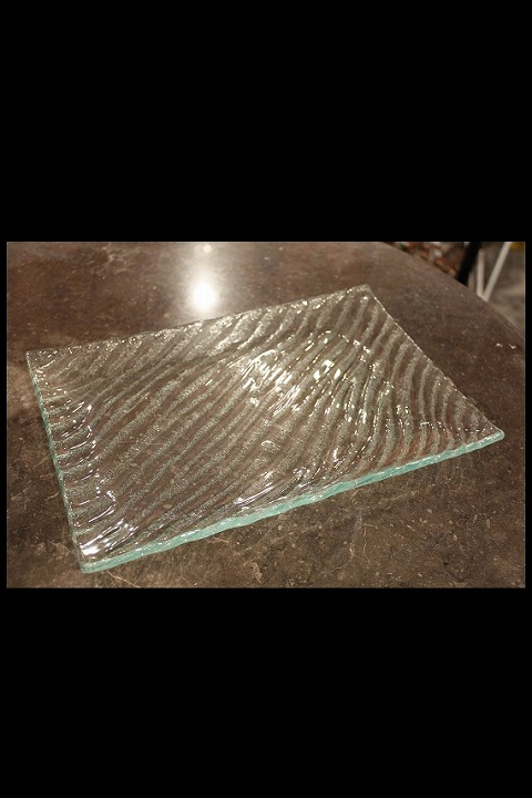 ガラスプレート クリア 20×30