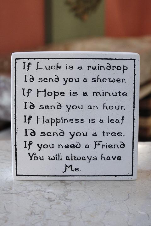 サインスタンド 04 Luck