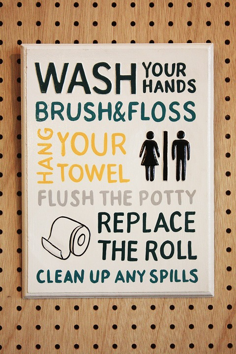 Rules Toilet A