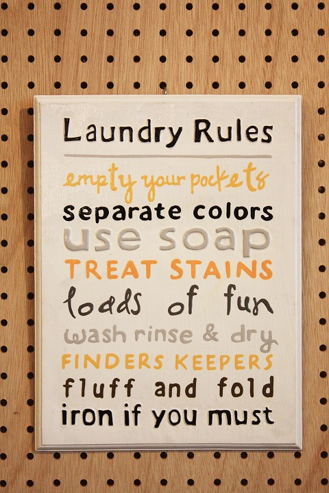 Rules Laundry A