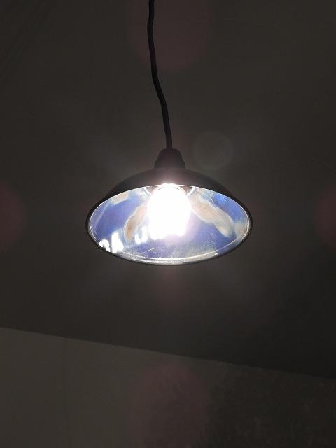 リサイクルドラム ランプシェードNS-NV(ネイビー)