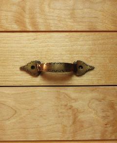 真鍮 ドアハンドル・取っ手/STL024FULL