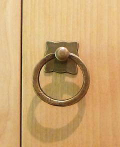 真鍮 引き取っ手/STP008