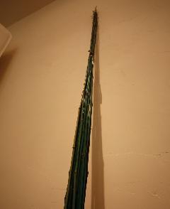 バンブー ストレートのグリーン色