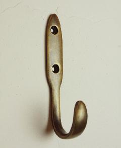 真鍮 ストレートフック/SFu056