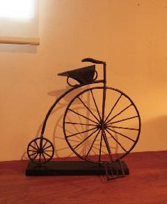 アイアン 雑貨・置物/自転車ペニー・ファージングオブジェDRONA0003