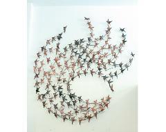 アイアン ウォールデコ(壁掛け飾り・アート)ハミングバード
