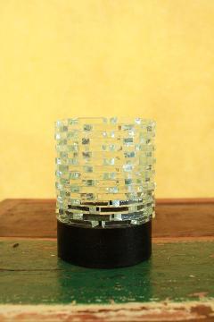 ガラス キャンドルホルダー(クリスタル)