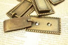 真鍮・ネームプレート(スクウエア)