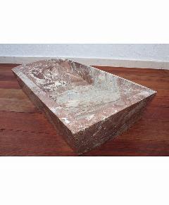 天然石洗面(大理石)茶系018