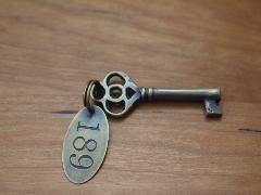 真鍮  鍵 X035 (小)