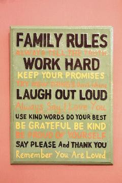 Rules Family A