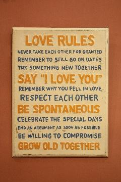 Rules Love