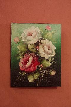 200×250 バラA (アートパネル、アート絵画、ハンドメイド)