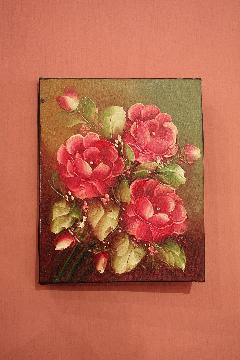 200×250 バラD (アートパネル、アート絵画、ハンドメイド)