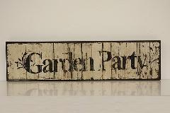 ウッドボード garden party