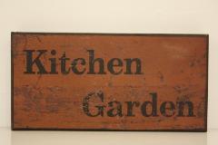 ウッドボード kitchen garden