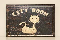 ウッドボード cat's room