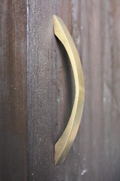 真鍮 取っ手/C123KWK(w136mm)
