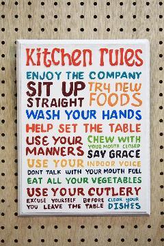 Rules Kitchen E