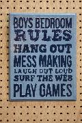 Rules Bedroom A